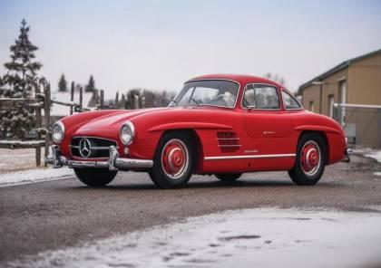 سيارة مرسيدس طراز 1957 تباع بأكثر من 20 مليون جنيه