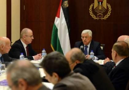 اللجنة التنفيذية تدعو حكومة التوافق لتحمل مسؤولياتها كاملة في قطاع غزة