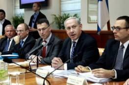 """للمرة الرابعة ..""""الكابينت"""" يجتمع غدًا لمناقشة اتفاق """"التهدئة"""" مع غزة"""