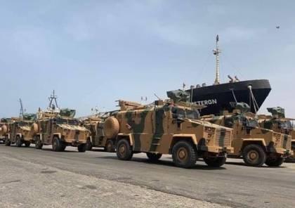 صور ..وصول دفعة كبيرة من الأسلحة التركية إلى العاصمة الليبية
