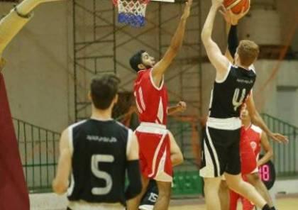 فوزان لخدمات جباليا وجمعية الشبان المسيحية في دوري جوال لكرة السلة