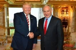 مصادر عبرية : اتصالات للتنسيق لزيارة ترامب الى تل ابيب