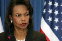 كونداليزا رايس تعترف : ذهبنا إلى العراق من أجل صدام حسين