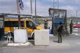 """إصابة عامل برصاص جنود الاحتلال على حاجز """"مزموريا"""" شرق بيت لحم"""