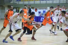 غزة الرياضي يواصل تألقه ويعبر خدمات خانيونس في كرة السلة