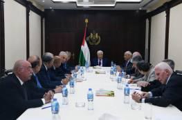 """""""التنفيذية"""" تقرر تشكيل لجنة لتفعيل دوائر ومؤسسات منظمة التحرير"""