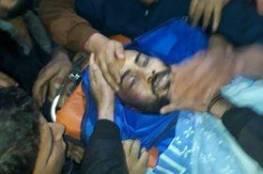 وصول جثمان الشهيد أحمد أبو حسين إلى القطاع