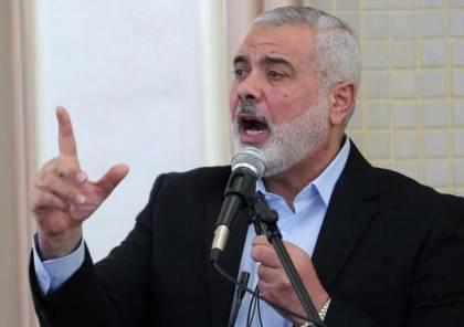 """بماذا ردت حماس على نية """"اسرائيل"""" مقاضاة هنية بالجنائية الدولية؟"""