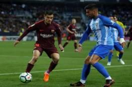 فيديو.. برشلونة يفوز على ملقا ويعزز صدارته في الليغا