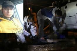 محدث: استشهاد شاب برصاص الاحتلال شرق رام الله بحجة محاولة دهس