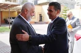 الوفد المصري يُغادر القطاع بعد لقائه قادة حماس