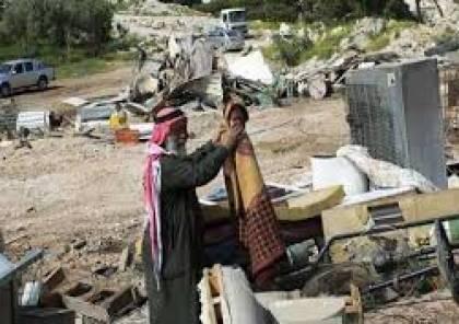 اسرائيل تقرر هدم وترحيل سكان تجمع بدو الخان الأحمر شرق القدس