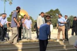 """""""غليك"""" يقود اقتحاما جديدا للمسجد الأقصى صباح اليوم"""