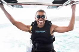 فيديو و صور جديدة .. ماذا يفعل «أوباما» بعد ترك البيت الأبيض