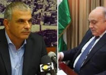 وزير المالية بشارة التقى نظيره الاسرائيلي كحلون لبحث التنسيق الاقتصادي