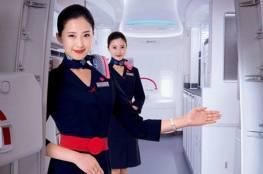 فيديو.. فصل مضيفة طيران بسبب مشهد رومانسي في الطائرة