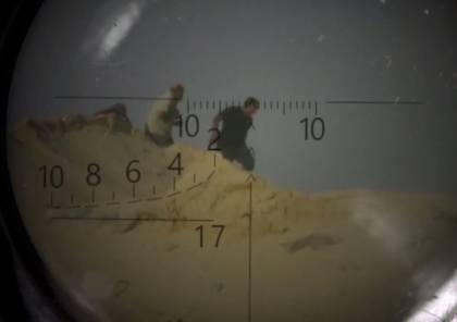 داعش يبث فيديو لقنص العشرات من جنود الجيش المصري