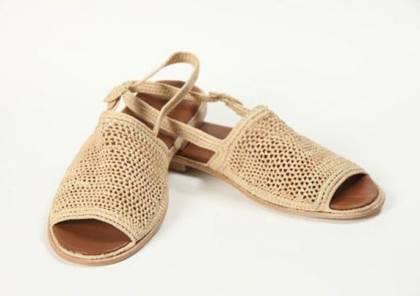 أحذية الخوص تمنحكِ الراحة والتألق