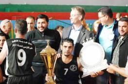 السلام يتوج بطلاً لدوري كرة السلة الثالث للكراسي المتحركة
