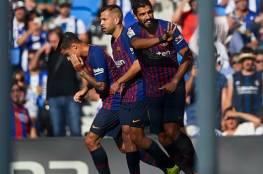 فيديو.. برشلونة يواصل انتصاراته في الليغا