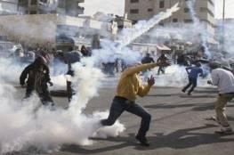 مواجهات في الخليل جراء اعتداء الاحتلال على طلبة مدرسة بقنابل الغاز
