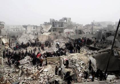 أكثر من 50 قتيلًا في غارات للنظام والروس بحلب