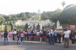 سلسلة بشريّة في حيفا لرفع الحصار عن قطاع غزة
