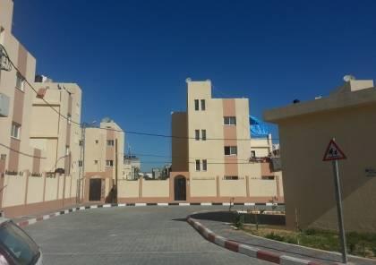 الاونروا والهلال الاماراتي تفتتحان مدينة الشيخ خليفة بن زايد السكنية بخانيونس