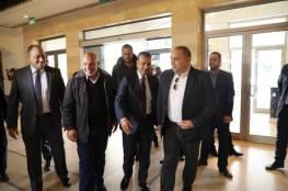 """الوفد الامني المصري يغادر غزة عبر معبر """"بيت حانون"""""""
