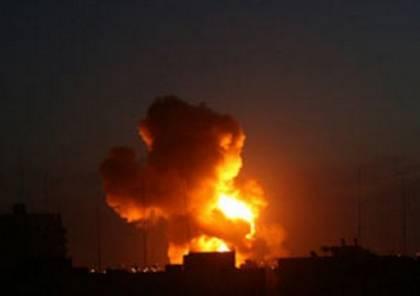 محدث : إصابتان في غارات إسرائيلية متفرقة على غزة