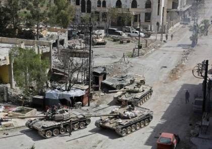 عشرات القتلى من قوات النظام السوري شرقي دمشق