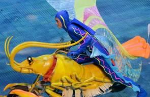 افتتاح الألعاب الآسيوية للشباب في الصين