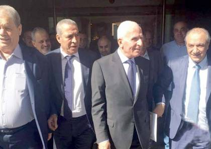 """وفد رسمي من حركة """"فتح"""" يتوجه إلى القاهرة غدا للقاء المخابرات المصرية"""