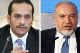 كشف تفاصيل جديدة عن اللقاء السري بين ليبرمان ووزير الخارجية القطري