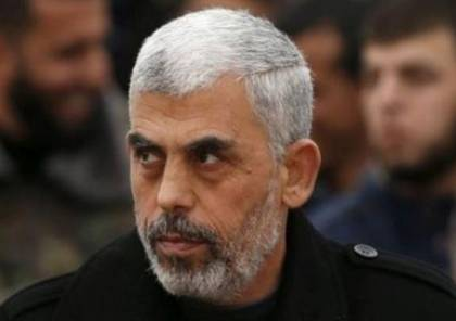 السنوار يتحدث عن مبادرة القسام وايران ودحلان ..ويحدد توقيت الانفجار في وجه اسرائيل
