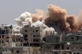 طائرات النظام تقصف درعا وعشرات القتلى بالغوطة