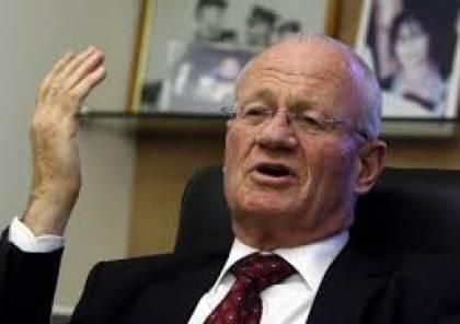 """رئيس الموساد السابق """"ياتوم"""" : ضم الضفة سيؤدي إلى انهيار السلطة"""