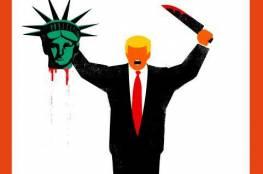 """ترامب قاطع رؤوس على غلاف مجلة """"دير شبيجل"""" الشهيرة"""