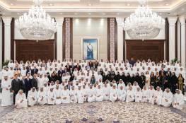 محمد بن زايد يلتقي الإعلاميين في دولة الامارات