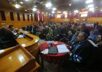 """غزة:رئيس """"الإعلامي الحكومي"""" ينال الماجستير حول واقع حصول الصحفيين على المعلومات"""