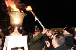 الرئيس يوقد شعلة الانطلاقة 52 :الاستيطان على أرض فلسطين المحتلة إلى زوال
