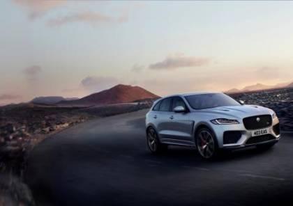 جاكوار F-PACE SVR تجمع بين الأداء الخارق للسيارت الرياضية والتصميم العملي للسيارت الدفع الرباعي