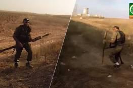 """فيديو وصور .. كتائب القسام تكشف : الشهيد حجيلة شارك بعملية """"ناحل عوز 2014"""""""