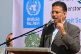 """أبو حسنة : أزمة رواتب موظفي الأونروا """"مؤقتة"""" وهناك جهود """"جبارة"""" تُبذل لحلها"""