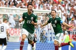 فيديو.. المكسيك تصعق ألمانيا وتفجر أولى مفاجآت كأس العالم 2018