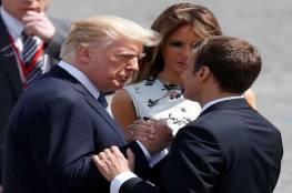 """باريس: ماكرون أبلغ ترامب بأن سياسات الضغط الأمريكية يمكن أن يستغلها """"حزب الله"""""""
