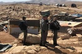 """سلطات الاحتلال تشدد حصارها لـ""""الخان الأحمر"""" مع انتهاء المهلة"""