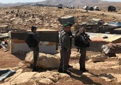 """القائمة """"المشتركة"""": إسرائيل تقترف جريمة حرب وتطهير عرقي في خان الأحمر"""