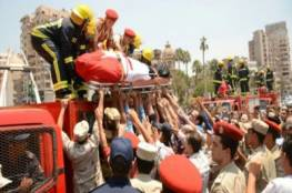 استشهاد خمسة عناصر شرطة مصريين في اعتداء على حاجز امني في الجيزة