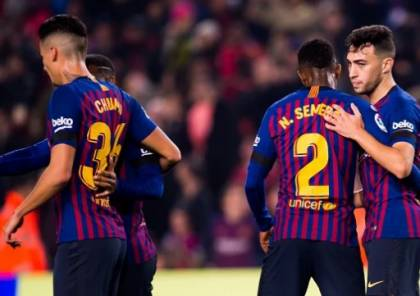 فيديو.. برشلونة يعبر إلى ثمن نهائي الكأس بفوز ساحق على ليونيسا